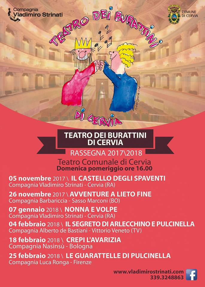 Teatro dei burattini - Compagnia Vladimiro Strinati, locandina