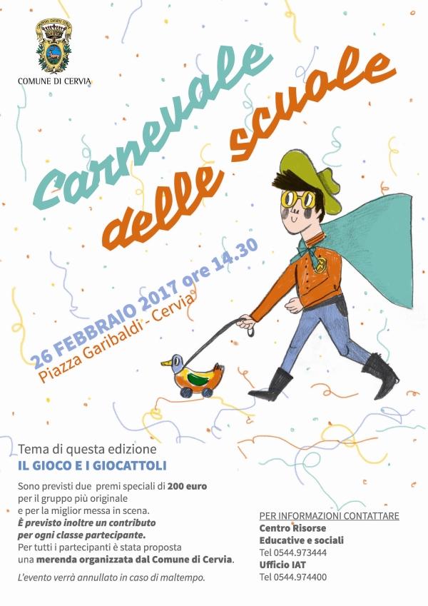 Carnevale scuole - locandina 600