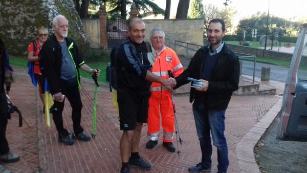 Il cammino del sale, Riccardo Bardelli sindaco di Paciano