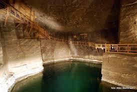Il magico mondo del sale - La Miniera di Sale di Wieliczka, lago