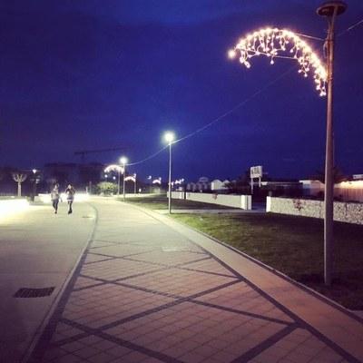 Luminarie lungomare di Milano Marittima