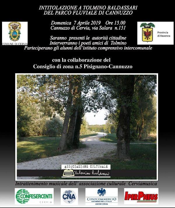 Parco fluviale di Cannuzzo, invito intitolazione