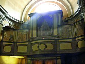 Chiesa di Santa Maria del Suffragio - organo Callido