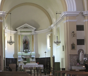 Chiesa Sant'Antonio da Padova - interno