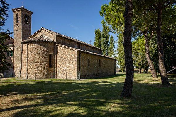 Pieve di Santo Stefano, esterno abside