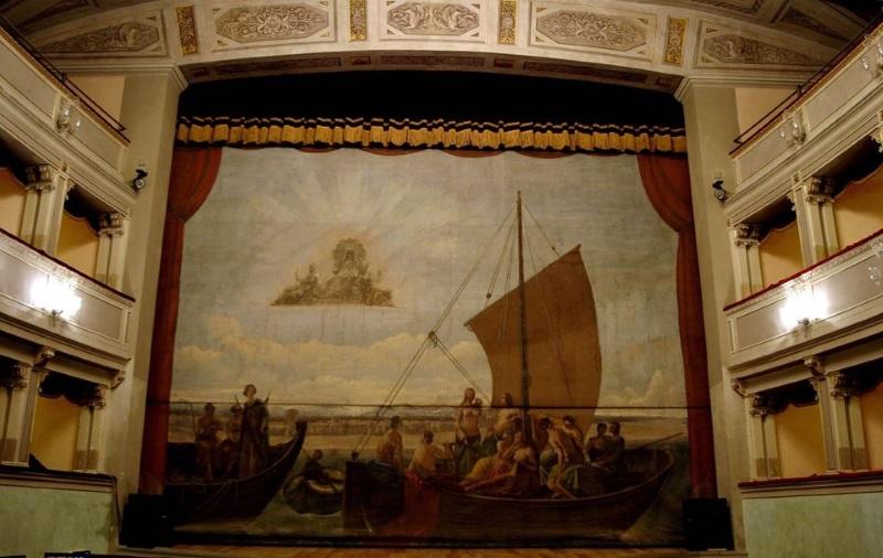 Teatro Comunale, velario