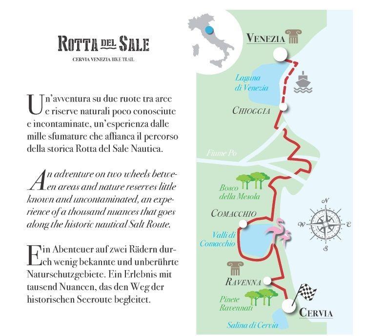 Cervia Bike Tourism, Rotta del sale