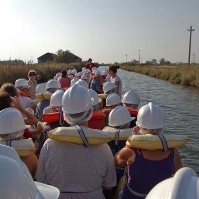 In salina in barca, percorso produttivo - 400x400
