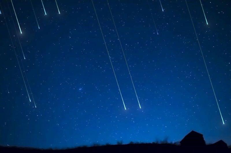 Salina sotto le stelle, cielo stellato
