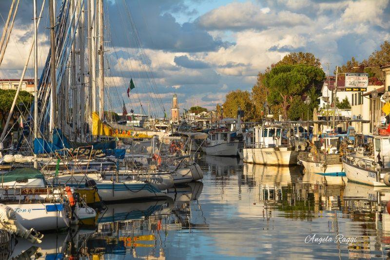 Aperitivo con i pescatori, veduta Borgo Marina, foto Angela Raggi