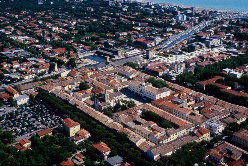 Passeggiata narrata in centro storico, veduta aerea