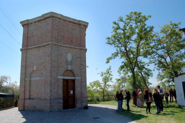 Una storia legata al sale, torre esagonale