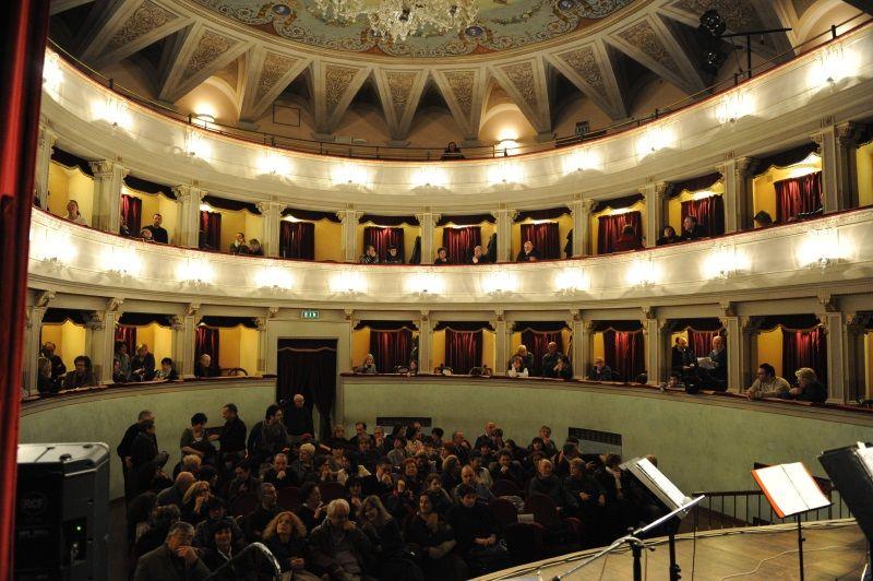 Visita al Teatro Comunale, interno