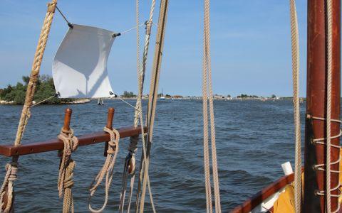 Il Delta in barca a vela