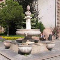 La fontana di Piazza Garibaldi