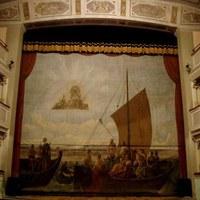 Il Velario - L'antico sipario del Teatro Comunale