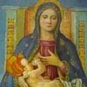 Tavola rappresentante la Madonna del Pino